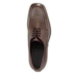 416 scarpa comoda stringata cervo marrone sopra