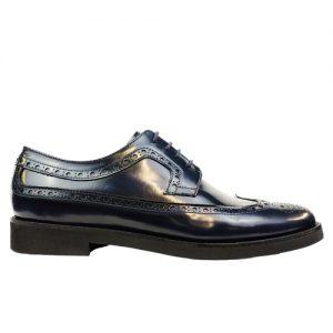 453 scarpa extralight spazzolato blu profilo