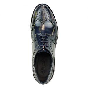 453 scarpa extralight spazzolato blu sopra