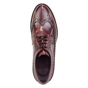 453 scarpa extralight spazzolato bordo sopra