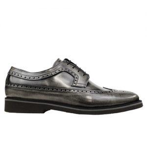 453 scarpa extralight spazzolato grigio profilo