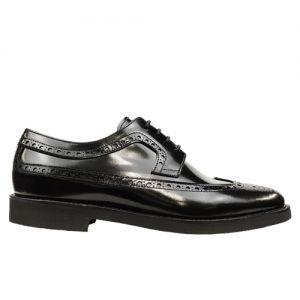 453 scarpa extralight spazzolato nero profilo