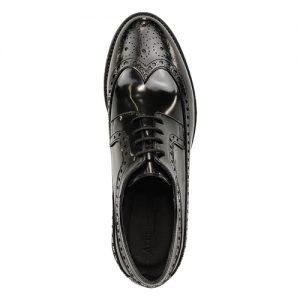 453 scarpa extralight spazzolato nero sopra
