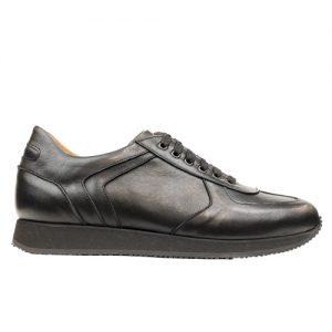 941 scarpa sportiva nappa nero profilo