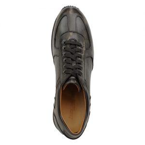 941 scarpa sportiva nappa nero sopra