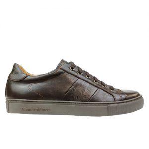 975 scarpa sportiva maranello marrone profilo
