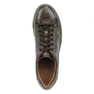 975 scarpa sportiva maranello marrone sopra