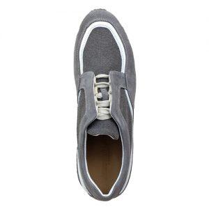 982 scarpa sportiva grigio tela sopra