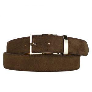 cintura camoscio marrone