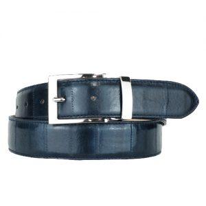 cintura canguro blu