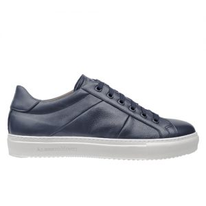 scarpa sportiva maranello blu profilo