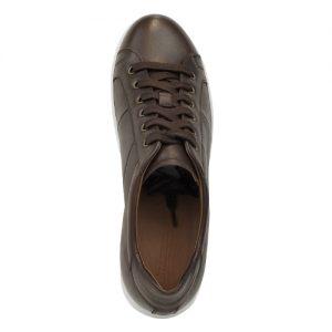 scarpa sportiva maranello marrone fondo bianco sopra