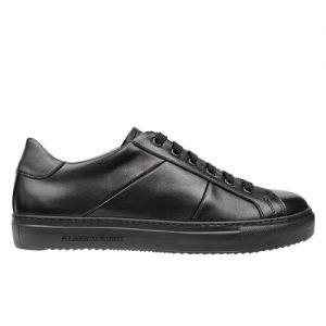 scarpa sportiva maranello nero fondo nero profilo