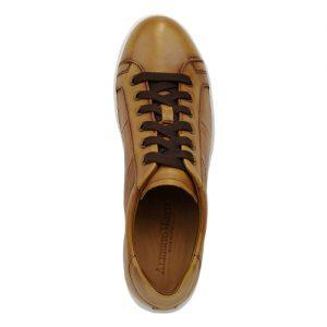 scarpa sportiva nappa cuoio sopra