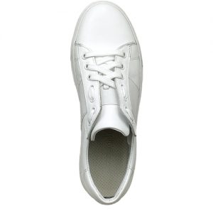 650 sneakers bianca riporto bianco donna sopra