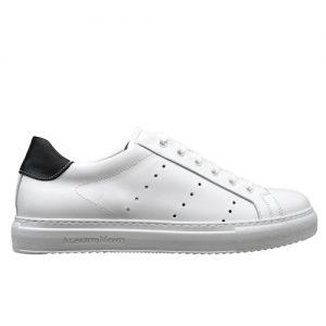 982 sneakers bianco nero uomo profilo