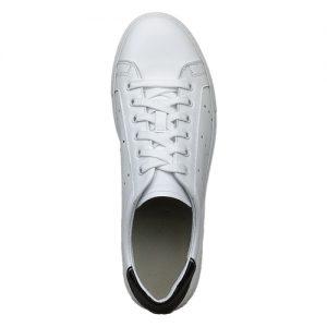 982 sneakers bianco nero uomo sopra