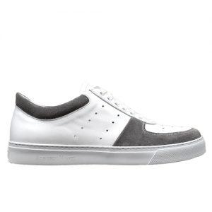 982 sneakers bianco grigio uomo profilo